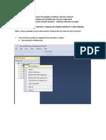 AP construcción de BD y tablas G y SQL
