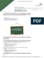 Les enregistrements comptables liés à la sous-traitance