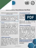 Convocatoria Guardianas y Guardianes Verified Guanajuato 2021