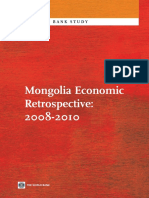 Mongolia Economic Retrospective