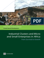 Industrial Clusters and Micro and Small Enterprise in Africa