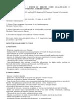 REQUALlFICAÇÃO DE PROFISSIONAIS DE SECRETARIADO