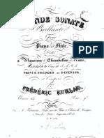 Op. 64   Grande Sonate brillante pour Piano et Flute.