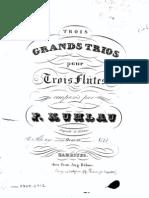Op. 86,1 Trois Grands Trios pour trois Flutes. No. 1.