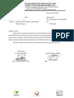 Surat Permintaan Troli Tabung Oksigen