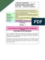 AREA DE EDUCACIÓN ARTÍSTICA PROYECTO INTERDISCIPLNARIO HUMANISTICO(1)