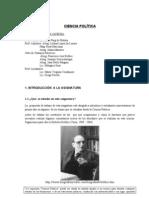 Programa de Ciencia Política Curso Promocional   2011 (2)