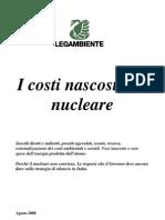 I costi nascosti del Nucleare