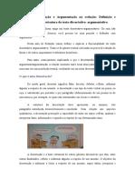 ESTRUTURA DE UM TEXTO DISSERTATIVO- ARGUMENTATIVO ( AULA 2)