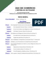 CÓDIGO DE COMERCIO PANAMA