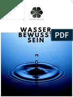 Das Wasserbewußtsein