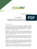 Da FederBio un invito ai media italiani ad un impegno congiunto per una comunicazione più sana e giusta.