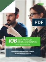 Guia Simples Nacional 2018