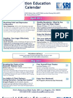 Sexual Recovery Institute - Spring & Summer Saturday Lecture Series