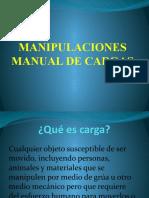 ExposicionMANIPULACIONES MANUAL DE CARGAS