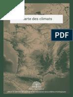 Carte des climats