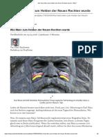 Wie Karls Marx zum Helden der Neuen Rechten wurde - WELT
