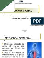 5. Princípios Básicos Da Mecância Corporal