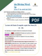 LECTIO DIVINA MARTES 27 DE ABRIL - MISS SAYD T - copia
