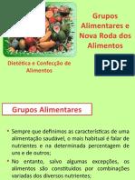 3 - Grupos Alimentares e Nova Roda dos Alimentos