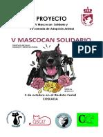 Proyecto V Mascocan Solidario de Coslada y VII Jornada de Adopción Animal