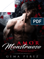 Gema Perez - Amor Monstruoso