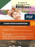 MOB REGRAS DO METODO DE OVULAÇÃO BILLINGS