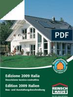 Rensch Haus - Edizione_2009_Italia