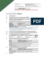 Formato SNIP 03 200439