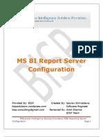 Report Server Configuration