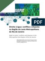 Direito à Água_ Conflitos e Disputas Na Região Do Leste Metropolitano Do Rio de Janeiro