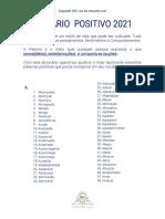 Dicionário Positivo. Copyright2021 www.be-etiquette.com
