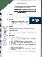 DIRECTIVA Nº 11-17-2019 SOBRE CREACION Y OTROS DE UNIDADES DE ORGANIZACION