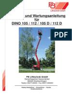 Betriebsanleitung DINO 105_20105.115-20105.192