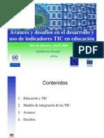 Indicadores TIC Educacion CEPAL
