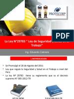 PPT-Ley-29783 -EDUARDO CABRERA
