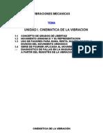 CINEMATICA DE LA VIBRACION