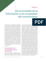 Hacia Las Sociedades Del Conocimiento UNESCO 29 30