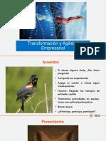 Diapositivas Transformacion y Agilidad Empresarial