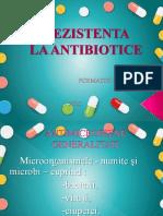 Suport de curs - Rezistența la antibiotice