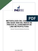 Metodología INEI-IPC