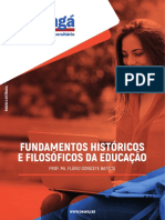 Fundamentos Históricos e Filosóficos Da Educação - EAD