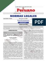 Dictan Disposiciones Reglamentarias Para El Otorgamiento Del Decreto Supremo n 178 2021 Ef 1972544 1 LA LEY