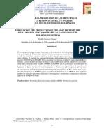 PRONÓSTICO DE LA PRODUCCIÓN DE LAS PRINCIPALES FRUTAS EN LA REGIÓN DE PIURA. UN ANÁLISIS ECONOMÉTRICO CON EL MÉTODO DE BOX-JENKINS