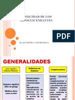 Toxicidad de Los Hipoglicemiantes (1)