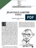 JEAN PAUL SARTRE VIVO - Mariano Arias Paramo