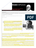 PACTO EDÍPICO E PACTO SOCIAL (da gramática do desejo à sem-vergonhice brasílica) - Helio Pellegrino