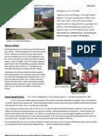 March 2011 Newsletter