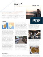 Feburary 2010 Newsletter