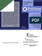 E-book - Políticas e Práticas Culturais